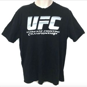 Other - Mens Large UFC Graphic T shirt Black White